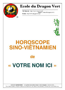 Horoscope chinois personnalisé - image